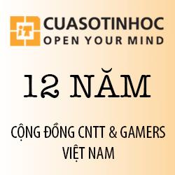 Cộng đồng CNTT & Gamers Việt Nam